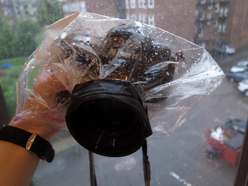 """""""rain-proof"""" camera enclosure"""