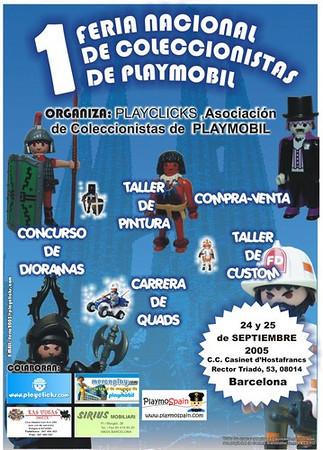 1º Feria Nacional de Coleccionistas de Playmobil