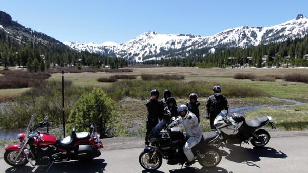 Lake Tahoe Motorcycle ride