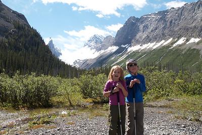 Hiking Burstall Pass 2011