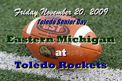 2009 Eastern Michigan at Toledo