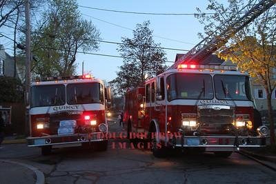 Quincy, MA - Working Fire. 22 Edison Street, 5-5,14
