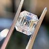 3.10ct Vintage Emerald Cut Diamond, GIA H VS1 27
