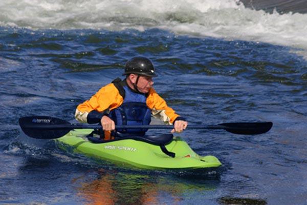 Kayake shot