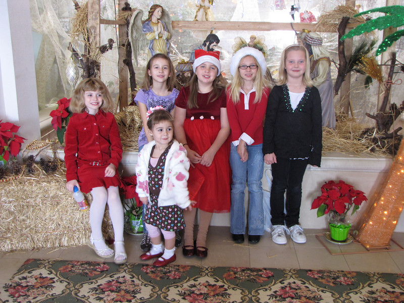 Troop 1163 Brownies @ Christmas!!