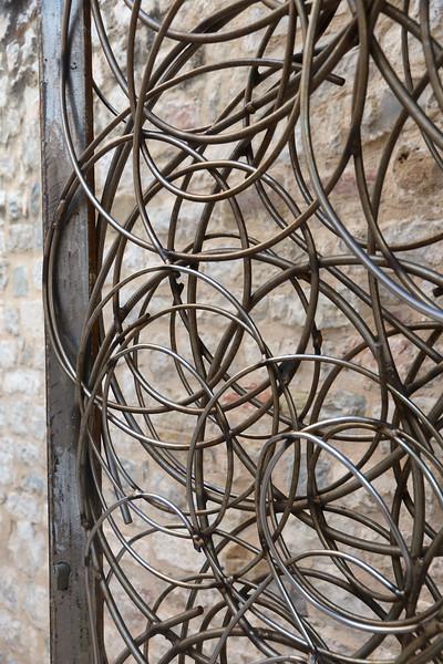 Intricate doorway - Old Town, Split