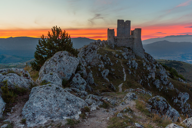 Morning at the castle