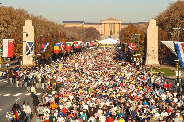 Philadelphia Marathon 2005