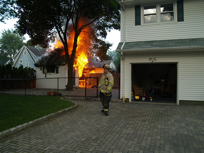 06-01-10 New Milford, NJ - Working Fire
