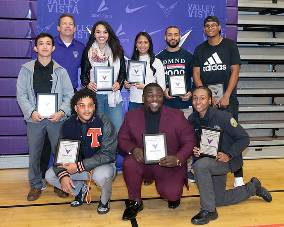Inaugural VVHS Hall of Fame 2019