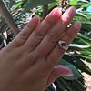 1.75ctw Cab Sapphire and Old European Cut Diamond 3-stone Ring 27