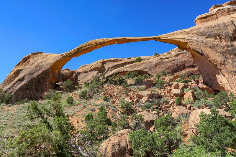 Arches National Park -- Landscape Arch (4-21-17)
