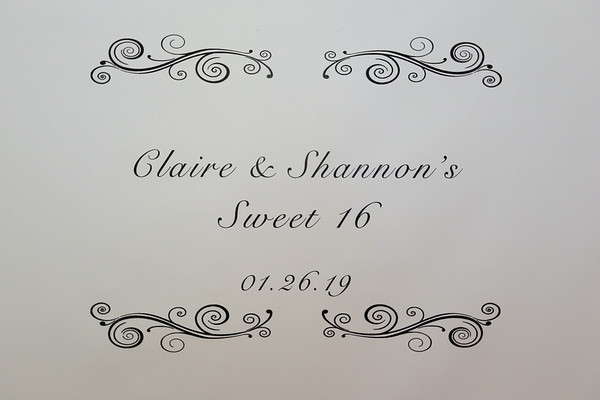 Claire & Shannon Sweet 16