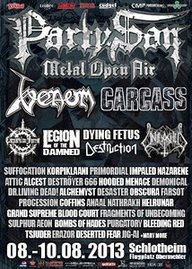 UNLEASHED - Party.San, Schlotheim, Germany 9/8 2013