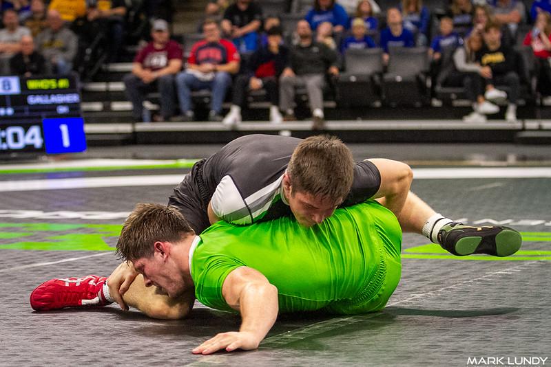 Keegan O`toole Hartland, WI (Wisconsin) VSU1 Padraic Gallagher Chesterland, OH (Ohio), 12-1 5:12 - 2019 Who's #1