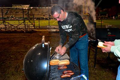2012-11-09 Marching Band - Senior Night / Walton Football Game