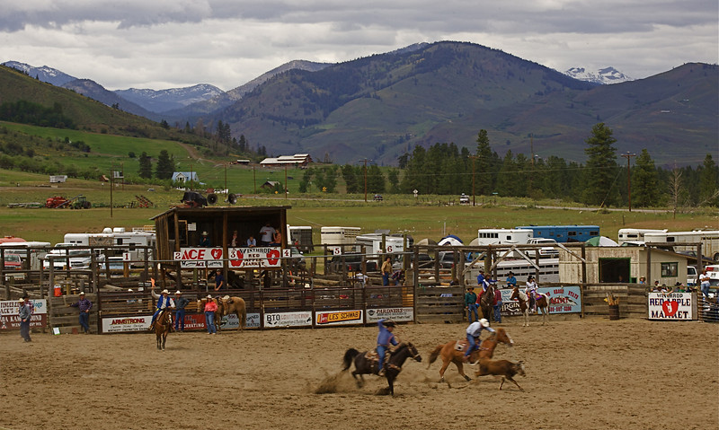 The Winthrop Rodeo grounds