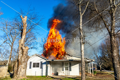 20190129 - Unincorporated Lebanon - House Fire