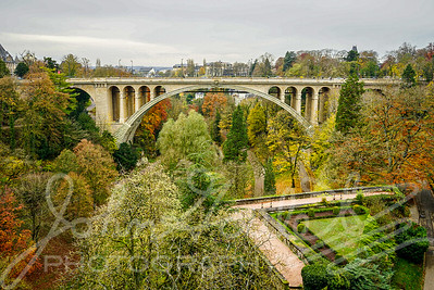 Luxembourg City Walk in the Late Autumn 2019-11-23