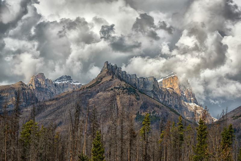 Ramparts of Mt. Wilson