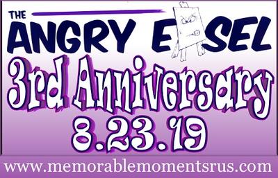 Angry Easel Anniversary