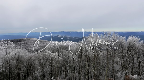 High Knob Tower - Winter Wonderland