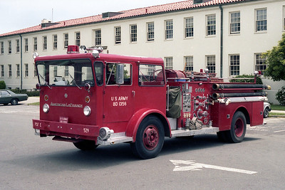 PRESIDIO US ARMY FIRE DEPARTMENT