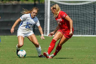190922 Duke vs NCSU Women's Soccer