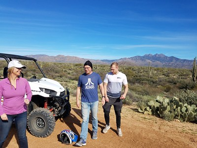 1-19-19 noon ATV tour Dustin