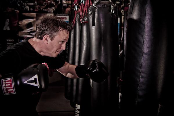 Straightright Boxing & Fitness Calendar shoot