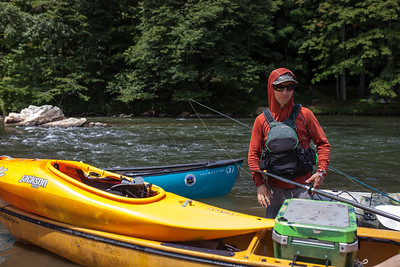 July 2018 New River Canoe and Camp