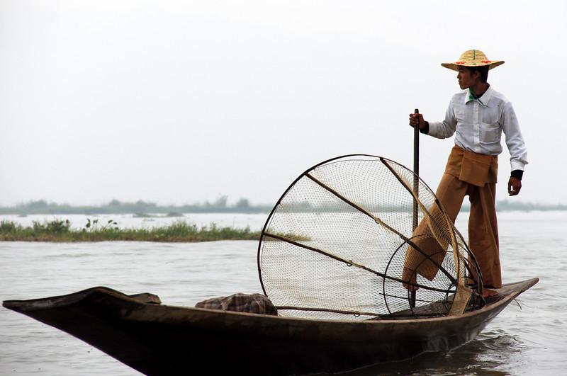 """""""fisherman"""" at inle lake"""