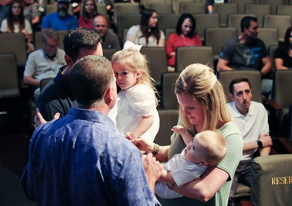 9.2018 Pinelake Baby Dedication
