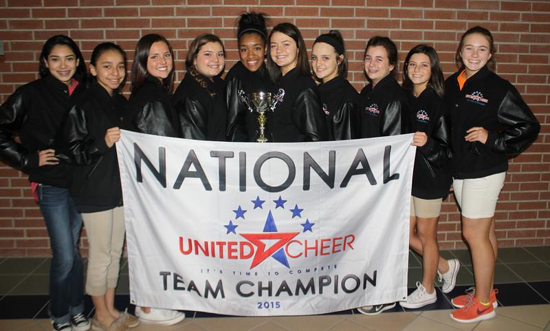 National United Cheer Team Champion 2015