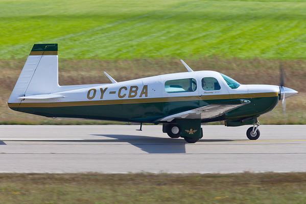OY-CBA - Mooney M20J 201