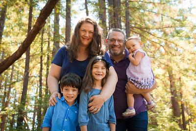 Fall Family Photos - Redwoods