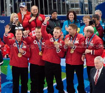 Men's Gold Medal Curling