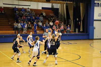 Varsity Ladies Basketball vs. Stockton 2017