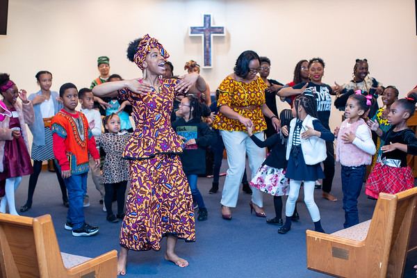 Cascade UMC Youth celebrating Black History through the arts