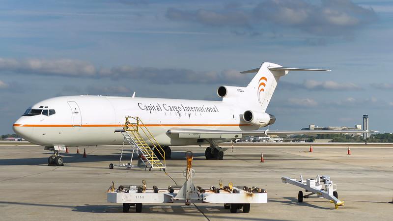 N708AA. Boeing 727-223(Adv)(F). Capital Cargo International. Orlando. 111202.