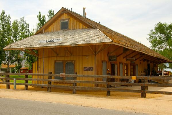 Laws Railroad Museum - Laws, California