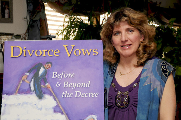 R-H Edie Sangiorgio, Author; Divorce Vows