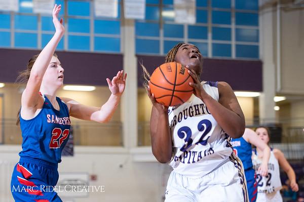 Broughton girls varsity basketball vs Sanderson. Play 4 Kay. January 17, 2019. 750_4379