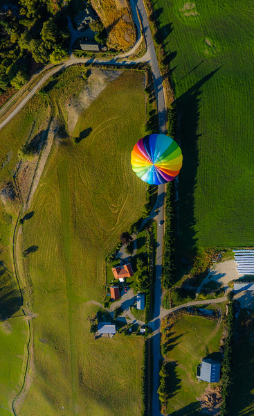 Ballooning From Above
