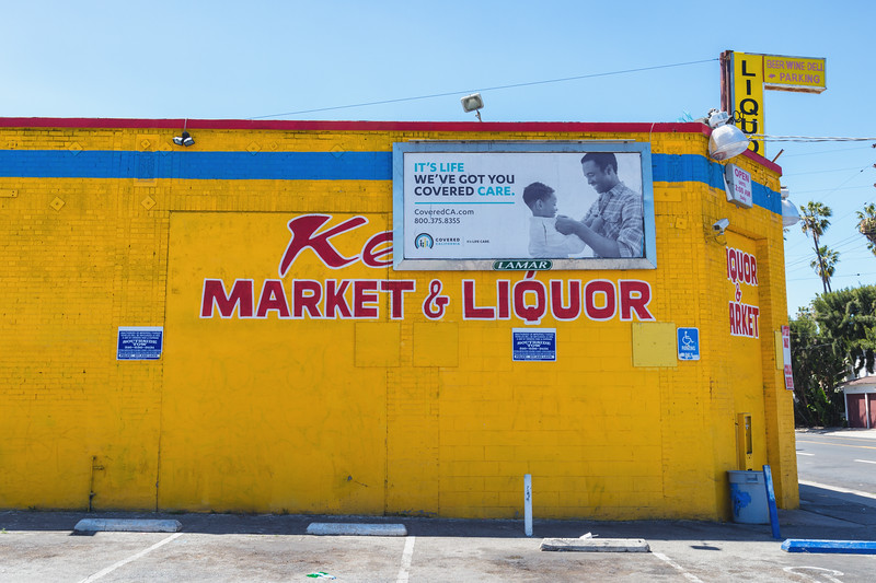 Yet another South L.A. liquor store.