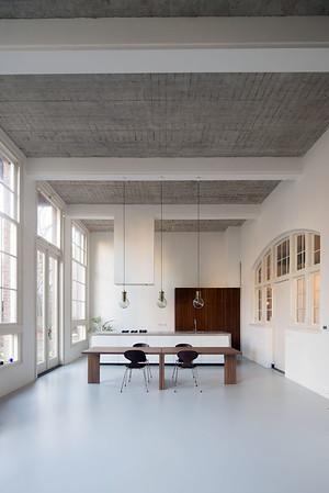 Interieur woonhuis. Eklund Terbeek architecten
