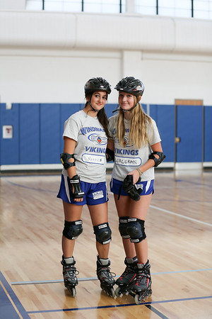 WMS Roller Blading Unit in Physical Education Class - November 6, 2019