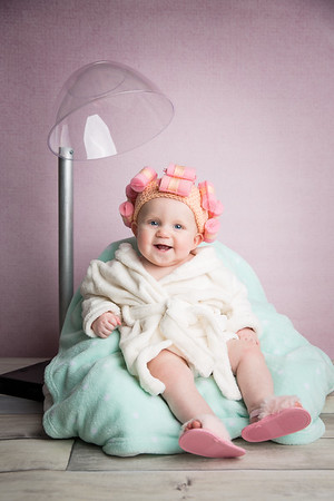 Olivia 7 months