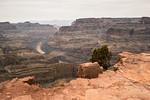 Guano Point - West Rim - Grand Canyon, Wer findet den Hubschrauber im Bild…?