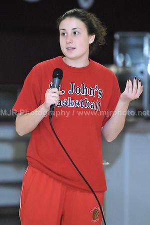 ST. Johns vs Sacred Heart Girls Varsity Basketball 2-5-08